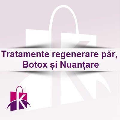Tratamente regenerare par B.tox si Nuantare